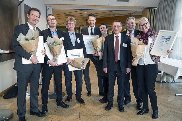 VINNARE AV REAL ESTATE ØRESUND AWARD 2014