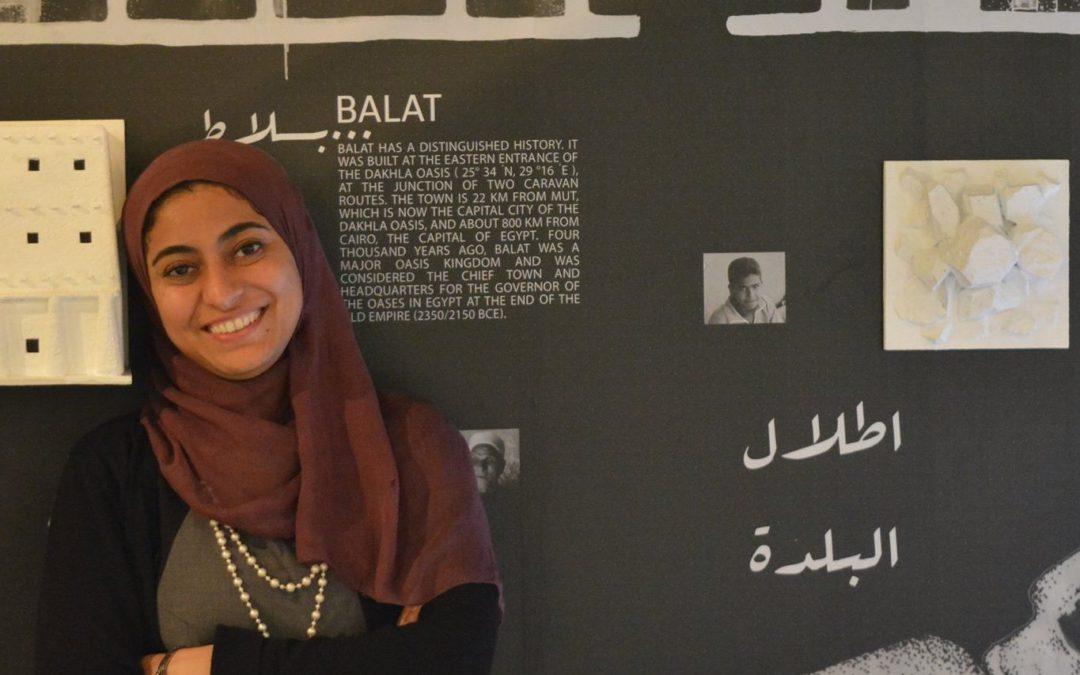 Porträtt av en forskare: Marwa Dabaieh