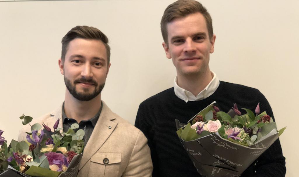 2018 års stipendier för examensarbeten utdelade