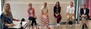 Lotta Strömgren Jönsson, Anne-Marie Pålsson, Louise Eklund, Hillevi Larsson, Martin Hofvenberg och Martin Grander