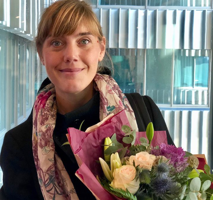 2018 års mentorsstipendiat: Anna Bernstad Saraiva Schott från MKB